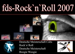 Deutsche Meisterschaft Cups  Rock`n`Roll 2007