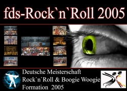 Deutsche Meisterschaft Formationen Rock´n`Roll 2005
